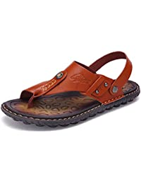 f32ec1aec8aa8e TAZAN Estate Sandali da Uomo e Pantofole di Grandi Dimensioni Sandali  Pizzico di Grandi Dimensioni di