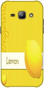 Snoogg Bright Organic Lemon Card In Vector Format Solid Snap On - Back Cover ...