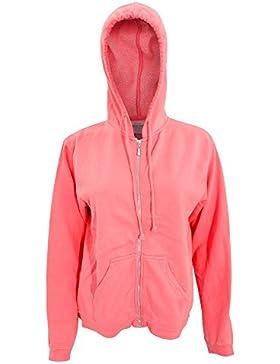 Comfort - Chaquetilla con capucha y cremallera para mujer