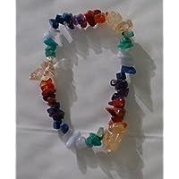 Chakra/Regenbogen Chip Bead Crystal Healing Armband preisvergleich bei billige-tabletten.eu