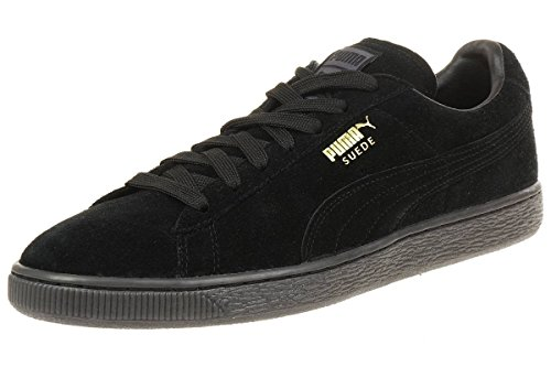 Puma Mono Iced, Baskets Basses Femme black-Team Gold