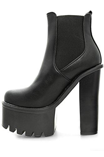 official photos b811f c0456 Alx Trend scarpe da donna Stivaletti con tacco alto e molla ...
