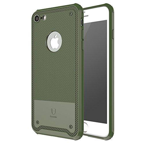 iPhone 7 Plus Hülle, IVSO Ultra Slim Silikon Rückseite Schutzhülle für Apple iPhone 7 Plus 5.5 Zoll Smartphone (Für iPhone 7 Plus, Grün) Grün