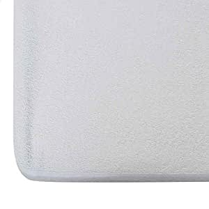 "Wake-Fit Water Proof Terry Cotton Mattress Protector - 78"" x 72"", King Size, White"