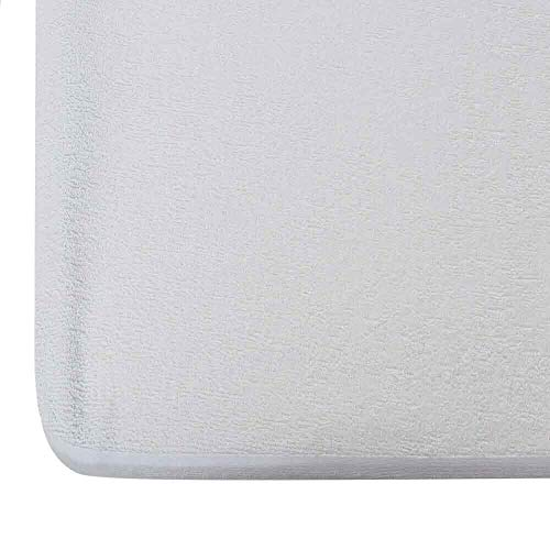 "Wakefit Water Proof Terry Cotton Mattress Protector- 72"" x 72""/1.83 m x 1.83 m, King Size, White"