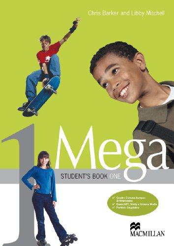 Mega. Student's Book-Workbook. Con espansione online. Con CD Audio. Per la Scuola media: 1