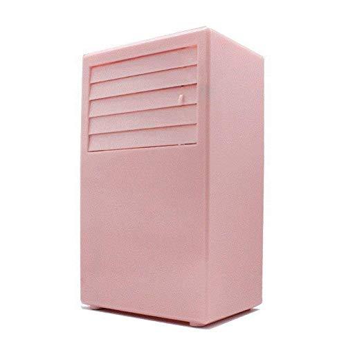 Carl Artbay Wiederaufladbarer Gletscher, Schlafsaal, Klimaanlage, Mini-Lüfter, tragbarer Student, Kleiner Tischventilator-E (Farbe : A) -