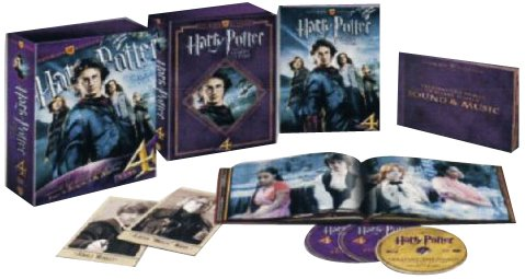 Harry Potter e il Calice di Fuoco (ultimate collector's edition) [3 DVDs] [IT Import]