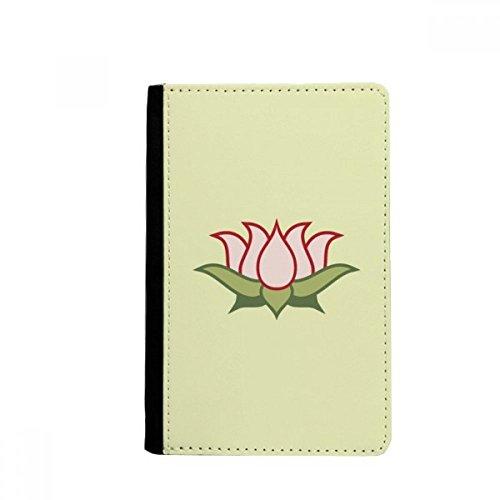 beatChong Lotus Buddhismus China Muster-Pass-Halter Travel Wallet Abdeckungs-Fall Karten-Geldbeutel