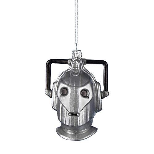 Doctor Who Kurt Adler Glas Cyberman Ornament, 10,8cm -