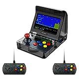 DroiX RetroGame RS-07 PRO Arcade mit Controllern und Netzteil Tragbare Mini-Arcade-Retro-Spielekonsole Klassische Arcade-Spiele Retro-Emulator -
