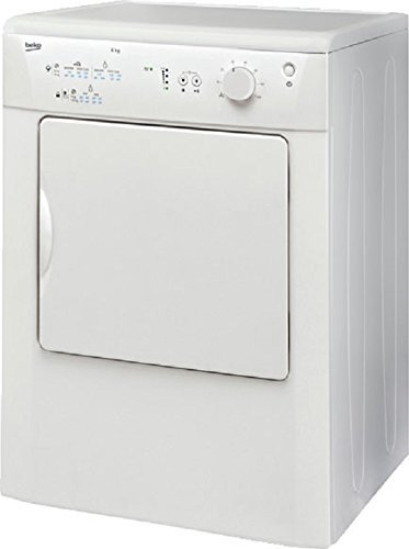 Beko DRVT61W 6Kg Vented Tumble Dryer in White