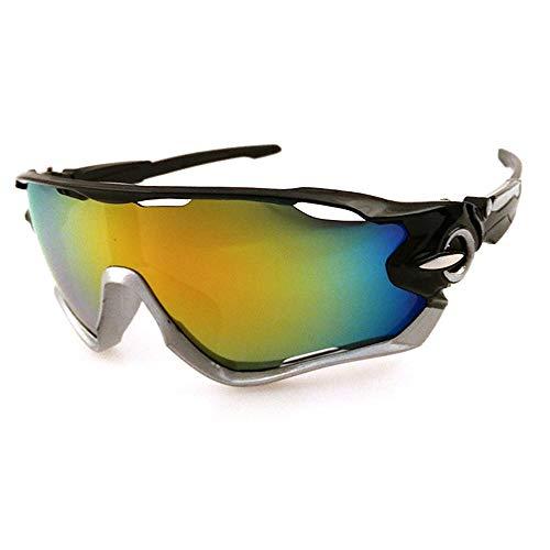 Outdoor-Sport-Sonnenbrillen Explosionsgeschützte elektrische Fahrrad-Sonnenbrillen für Männer und Frauen Allgemeine Farbabstimmung Charakter Tornado Radfahren Laufen Sport-Sonnenbrillen Sonnenbrillen Charakter Männer