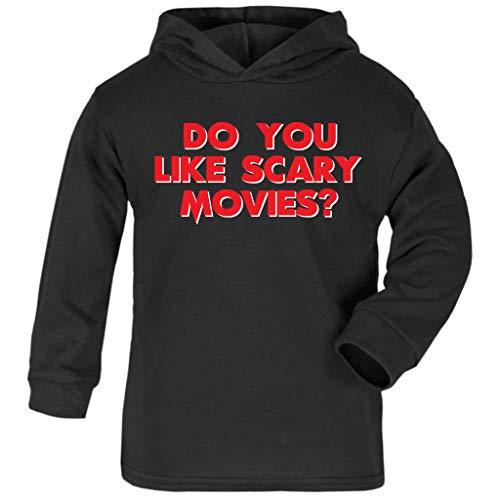 Cloud City 7 Scream Do You Like Scary Movies Baby and Kids Hooded Sweatshirt