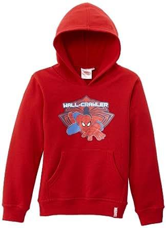 Spiderman Boy's HM1259 Sweatshirt  - Red - Red - 4 years (Brand size:  4 ans)