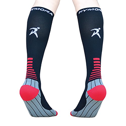 Compression Socks (Cushioned, Graduated Compression, Unisex for Men and Women) (Ideal for Sports, Work, Flight, Pregnancy) Test