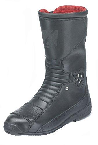 Kochmann, stivali da moto, modello 'Voyager', da 28,5cm di altezza, di colore nero, numero 38-47
