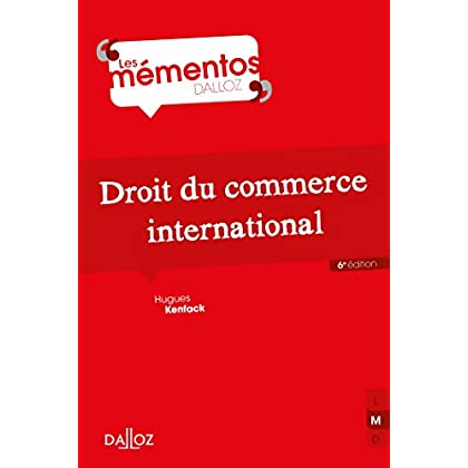 Droit du commerce international (Mémentos)