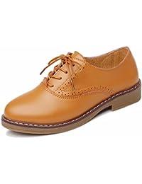Moonwalker Zapatos con Cordones de Cuero Mujer Oxford