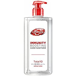 Lifebuoy Total 10 Hand Sanitizer, 190 ml