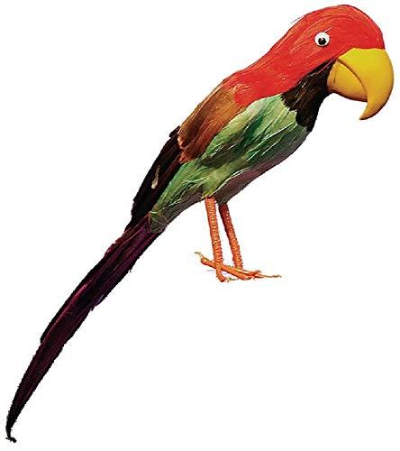 Piraten Vogel Kostüm - Herren Damen Feder Papagei Vogel Piraten