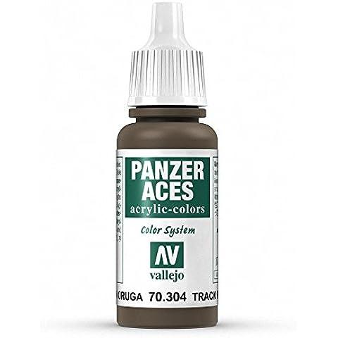 Vallejo Panzer Aces 17 ml, colore: nero Track Primer