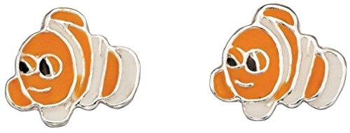 Mio gioiello - D940pit - orecchino poisson dessin animé in argento 925/1000