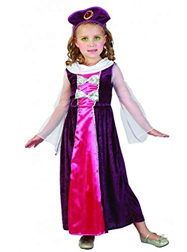 Islander Fashions Regal Girls Princess Kleinkind Kost�m Kids Book Week Day Party Wear Kost�m unter 4 ()
