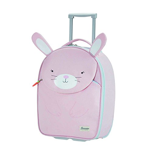 SAMSONITE Happy Sammies - Upright 45/16 Equipaje infantil, 45 cm, 24 liters, Rosa (Rabbit Rosie)