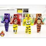 B123 Action & Toy Figures - Minecraft Toys Figures 4pcs/Set Five...