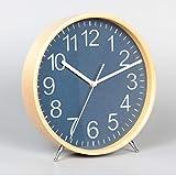 AIKAI Desktop Uhr Sitz Wohnzimmer Hause einfache Uhr Dekoration Desktop pendeluhr große stumm kreative Mode tischuhr 2 25,5 cm