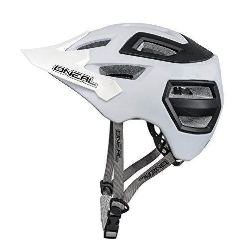 O'Neal Pike Enduro Casque Noir Mat Blanc All Mountain FR VTT BMX Vélo EPS, 0009-04, Taille S/M...