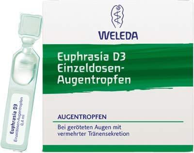Euphrasia D 3 Einzeldosen-augentropfen 20X0.4 ml