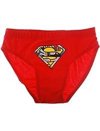 Boite slip de bain enfant garçon Superman Rouge 10ans