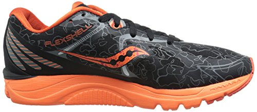 Saucony Men's Kinvara 6 Runshield Footwear Black/orange