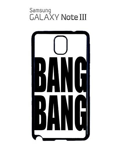 Bang Bang Tumblr Instagram Facebook Cool Mobile Phone Case Samsung Note 3 White Noir