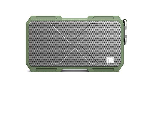 BAIYI Wireless Bluetooth Speaker Power Bank Waterproof Portable Column Box Music Lautsprecher Stereo HiFi,Green (Wifi-radio Pandora)