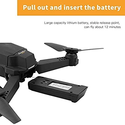 Studyset E58 WIFI Wide Angle HD Camera High Hold Mode Foldable Armed RC Quadcopter RTF Drone by Studyset