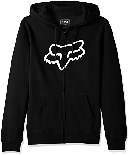 Fox 20766-001-XL Jersey Legacy Foxhead Zip, Black, XL (Sweatshirt Kapuzen Jersey Xl)
