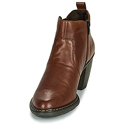 Rieker 55284-26 Ankle Boots/Boots Women Brown Ankle Boots Shoes 3