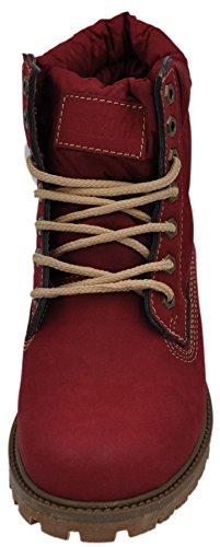 Tamboga, Mens Boots Red