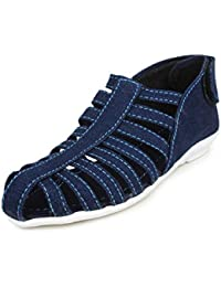 Zaak Women's Blue PVC Shoes