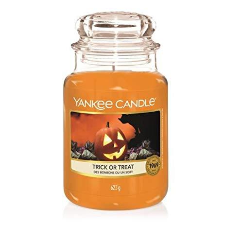 Yankee Candle - Trick or Treat - Classic - Duftkerze im Glas - Paraffinwachs/ätherische Öle/Baumwolldocht - 623g -
