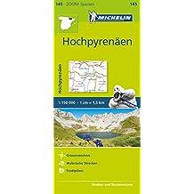 Michelin Hochpyrenäen: Straßen- und Tourismuskarte 1:150.000 (MICHELIN Zoomkarten)