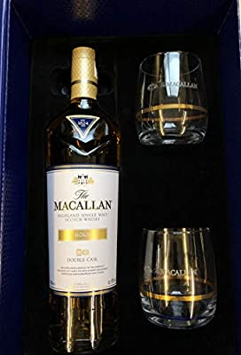 The Macallan Double Cask Gold Limited Edition Gift Set 70cl & 2 Glasses