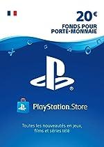 Carte PSN 20 EUR - Compte français | Code PSN à télécharger