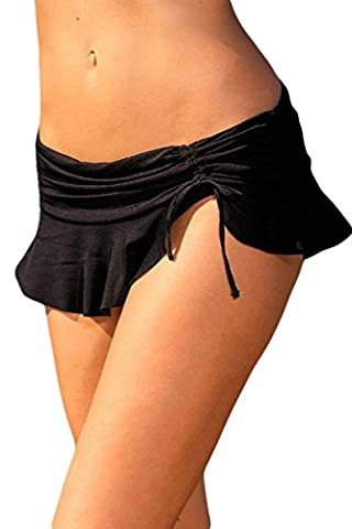 Thatch Frauen-Badeanzug Bademode Badeanzüge Bikinis Fashion Sexy,Black,XXL