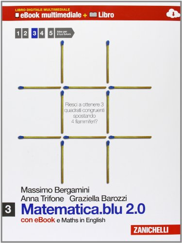 Matematica.blu 2.0. Moduli: S-L. Con Maths in english. Con espansione online. Per le Scuole superiori. Con DVD-ROM: 3