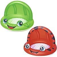 Bestway 52189 kids' play pool - kids' play pools (Pattern, Verde, Rojo, Vinilo, 1060 x 1060 mm, Full color box), Colores Surtidos