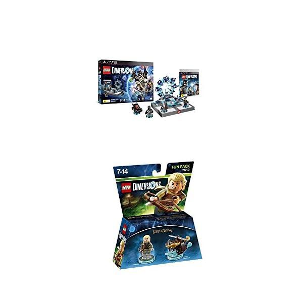 LEGO - Starter Pack Dimensions (PS3) + LEGO Dimensions - El Señor De Los Anillos, Legolas 1